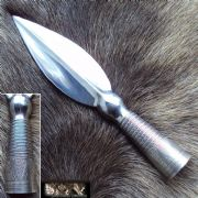 Viking Short-Bladed Spear Head